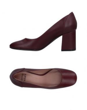 Туфли GIANNA MELIANI. Цвет: красно-коричневый