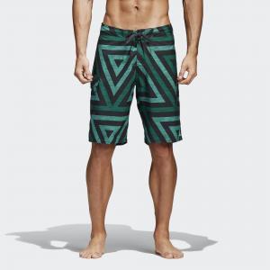 Пляжные шорты Triangle  Performance adidas. Цвет: зеленый