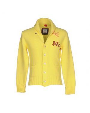 Кардиган Mc RITCHIE. Цвет: желтый