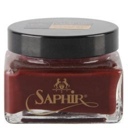 Крем для обуви  CREME 1925 темно-красный SAPHIR