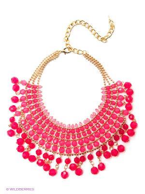 Колье Lovely Jewelry. Цвет: розовый