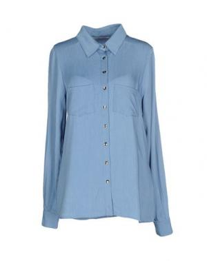 Pубашка MONICA •LENDINEZ. Цвет: небесно-голубой