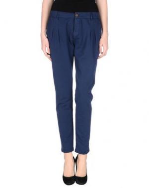 Повседневные брюки PRAIO. Цвет: грифельно-синий