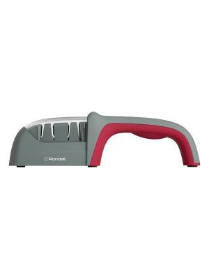 Точилка для ножа Rondell RD-323. Цвет: красный, серый
