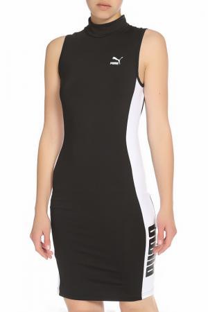 Спортивное платье для активного отдыха Puma. Цвет: черный