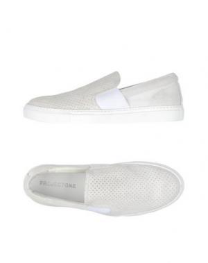 Низкие кеды и кроссовки PROJECT ONE. Цвет: белый
