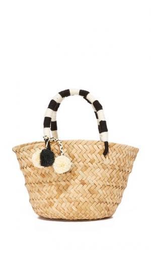 Миниатюрная объемная сумка с короткими ручками St Tropez Kayu