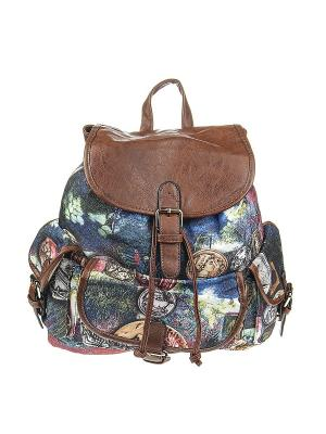Рюкзак женский Olere. Цвет: коричневый, розовый, желтый, синий, салатовый