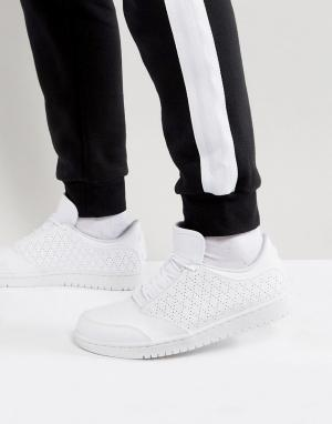 Jordan Белые низкие кроссовки Nike 1 5 888264-100. Цвет: белый