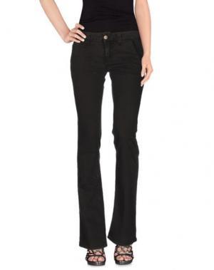 Джинсовые брюки DONDUP. Цвет: темно-коричневый