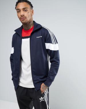 Adidas Originals Темно-синяя спортивная куртка CLR84 BK5912. Цвет: темно-синий