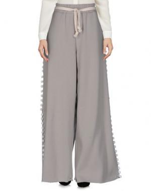 Повседневные брюки WEILI ZHENG. Цвет: серый