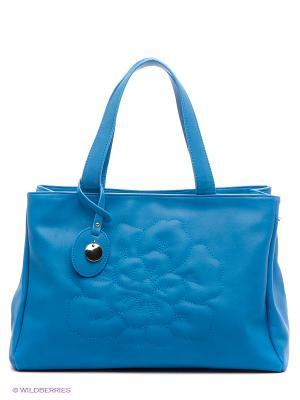 Сумка EVITA. Цвет: голубой
