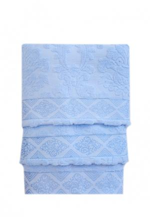Комплект полотенец 3 шт. La Pastel. Цвет: голубой