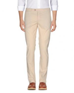 Повседневные брюки PIATTO. Цвет: песочный