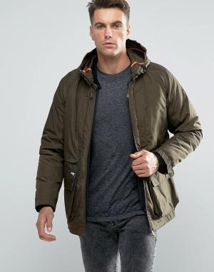 Puffa Куртка Billinghay. Цвет: зеленый