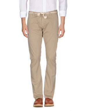 Повседневные брюки REIGN. Цвет: бежевый