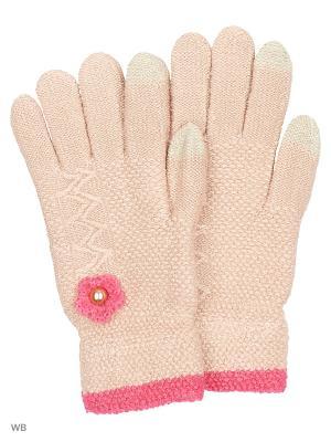 Сенсорные перчатки Punta. Цвет: бежевый
