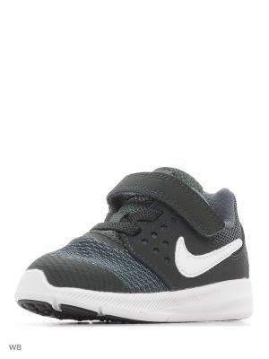 Кроссовки DOWNSHIFTER 7 (TDV) Nike. Цвет: зеленый
