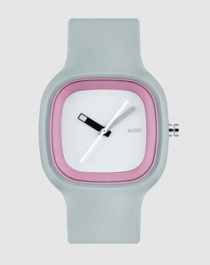 Наручные часы ALESSI. Цвет: серый