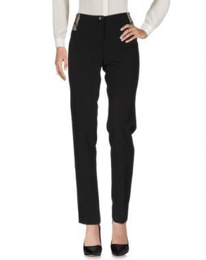 Повседневные брюки CANNELLA. Цвет: черный
