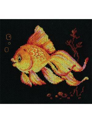 Набор для вышивания Исполняю желания  18х16 см. Алиса. Цвет: желтый, красный, рыжий
