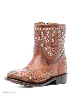 Ботинки ASH. Цвет: коричневый