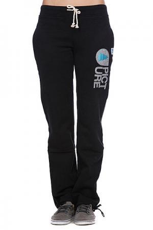 Штаны прямые женские  Cocoon Women Pants Black Picture Organic. Цвет: черный