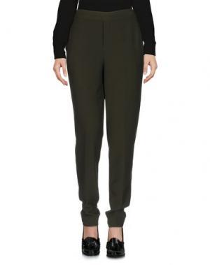 Повседневные брюки ESSENTIEL ANTWERP. Цвет: темно-зеленый