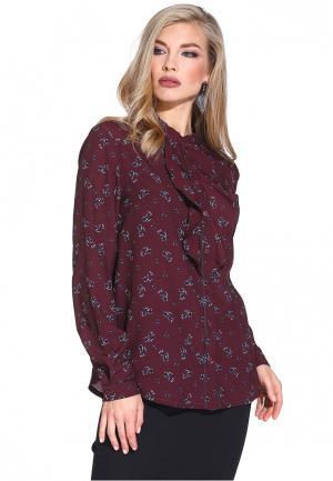 Блуза Gloss. Цвет: бордовый