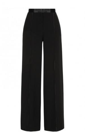 Однотонные широкие брюки со стрелками Elizabeth and James. Цвет: черный