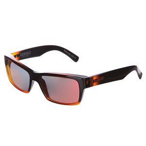 Очки  Fulton MindGloss Orange/Lunar Gloss Von Zipper. Цвет: черный,оранжевый