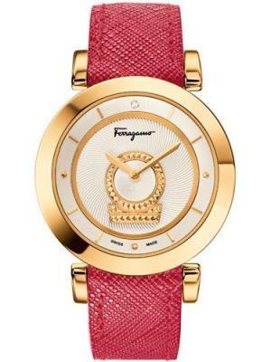 Часы Salvatore Ferragamo. Цвет: золотистый, белый