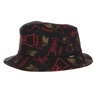 Панама  Drink Up Bucket Black Huf. Цвет: черный,бордовый