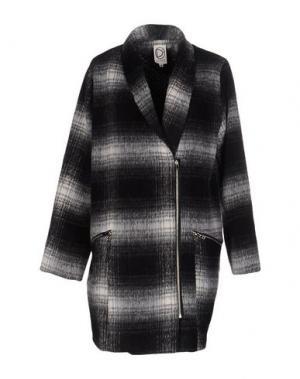 Пальто DRESS GALLERY. Цвет: стальной серый