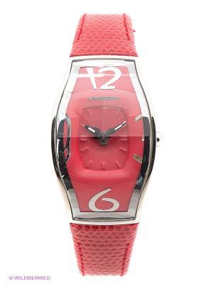 Часы Chronotech. Цвет: розовый, серебристый