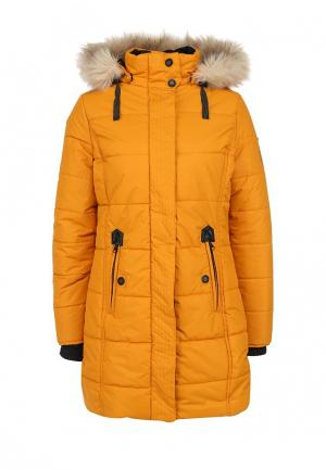 Куртка утепленная Torstai. Цвет: желтый
