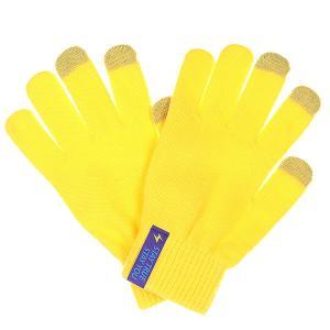 Перчатки  Touchgloves Yellow TrueSpin. Цвет: желтый