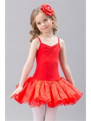 Купальник для танцев Baby Steen. Цвет: красный