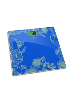 Весы напольные Sinbo SBS 4429. Цвет: синий