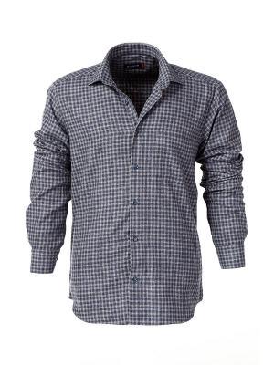 Рубашка BAWER. Цвет: бежевый
