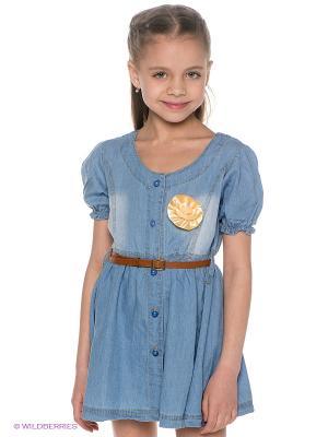 Платье Iota. Цвет: голубой