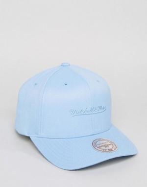 Mitchell & Ness Голубая бейсболка 110. Цвет: синий