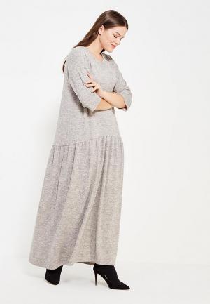 Платье Sitlly. Цвет: бежевый