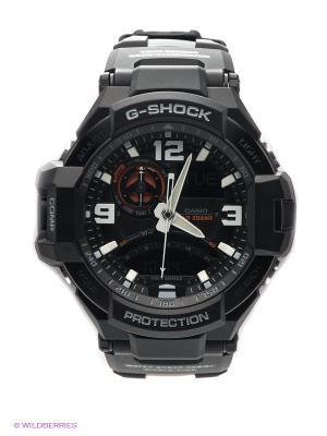 Часы G-SHOCK GA-1000-1A CASIO. Цвет: черный