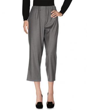 Повседневные брюки DANIELA PANCHERI. Цвет: серый