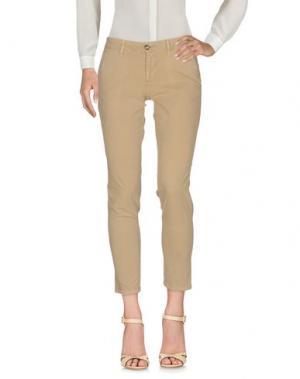 Повседневные брюки BLAUER. Цвет: бежевый