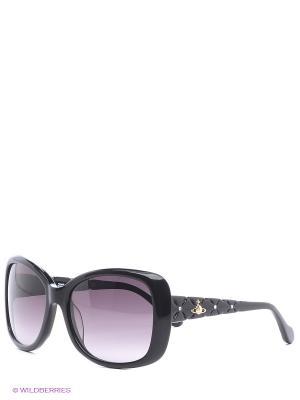 Очки солнцезащитные VW 794S 05 Vivienne Westwood. Цвет: черный