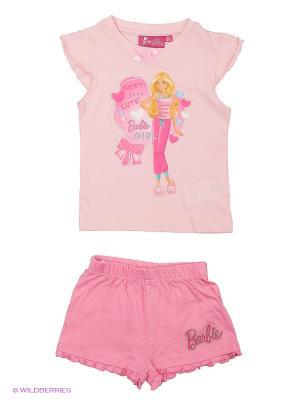Пижама Barbie. Цвет: розовый