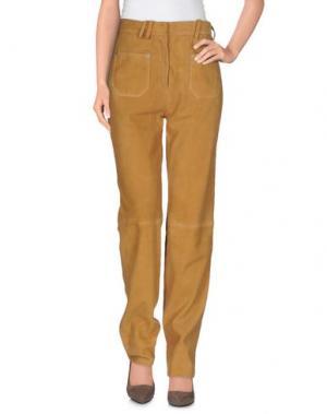 Повседневные брюки COURRÈGES. Цвет: верблюжий